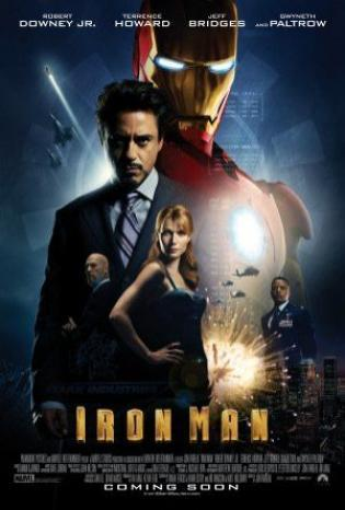 """Ironman"" - International (English title) (alternative spelling), USA (poster title) (2008)"