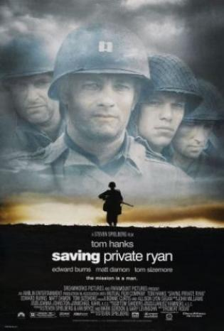 """Private Ryan"" - Japan (English title) (1998)"