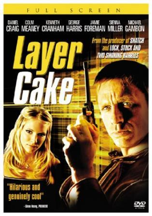"""L4yer Cake"" - Ireland (English title) (DVD box title), UK (DVD box title), USA (DVD box title) (2004)"