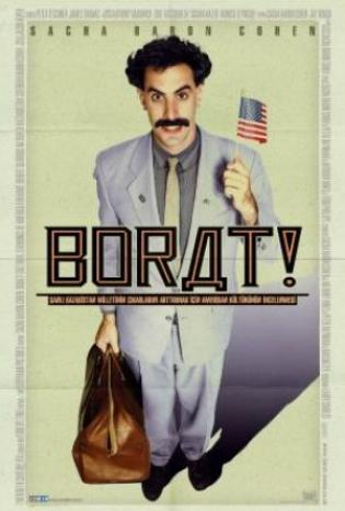 """Borat"" - UK, USA (working title)""Borat!"" - USA (poster title) (2006)"